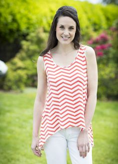high-low cut and a  scoop neck.  95% Viscose from Bamboo / 5% Spandex $58.00