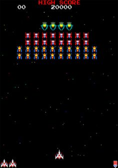 Video Games: Arcade: Galaga - Quick Game of Galaga? 80s Video Games, Video Game Party, Vintage Video Games, Classic Video Games, Video Game Machines, Mundo Dos Games, Retro Arcade Games, Gaming Wall Art, Quick Games