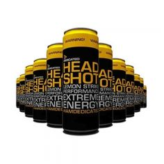 Headshot Drink, Dedicated Nutrition, 12 bucati X 355 ml