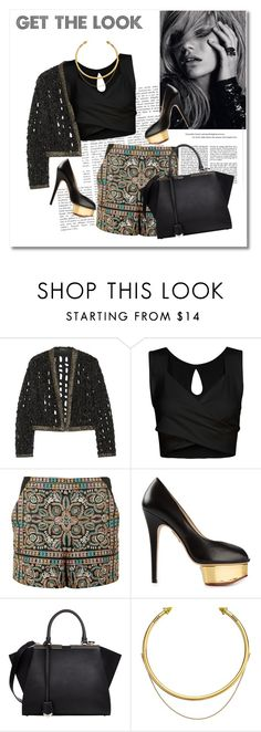 look the day by vkmd on Polyvore featuring Isabel Marant, Topshop, Charlotte Olympia, Fendi, OBEY Clothing and GetTheLook