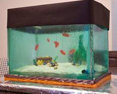 Aquarium Cake: The most amazing cake I've ever seen.