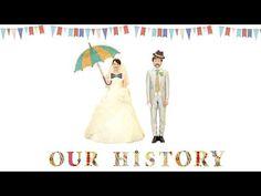 [結婚式]手作りプロフィールムービー |モンゴル800ひとりじゃない - YouTube