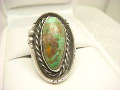 AMAZING!! Turquoise Ring / Navajo Ring / Turquoise by ShinePrettyGems, $125.00