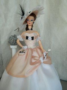 OOAK Civil War Fashion for Silkstone Barbie And Fashion Royalty Dolls by Joby Originals