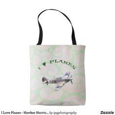 I Love Planes - Hawker Hurricane Tote Bag