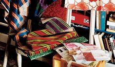 Chairish Blog - Home, Interior, and Furniture Design Blog by Chairish Led Furniture, Vintage Furniture, Furniture Design, Foyer Flooring, Phillips Collection, Profile Design, Traditional Furniture, Wood Bridge, Persian Rug