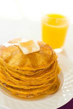 Pumpkin Pancakes - Brown Eyed Baker