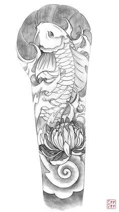 Sleeve Tattoo Sketch | Tattoo Sleeve Sketches Ideas Wonderful Sleeve Tattoo Ideas Drawings ...