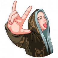 Make your own stickers for WhatsApp and iMessage Girly Drawings, Cartoon Drawings, Cool Drawings, Billie Eilish, Character Design Animation, Character Drawing, 3d Character, Character Concept, Concept Art