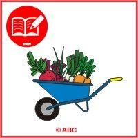 ABC Materská škola - Nový ŠVP pre MŠ - Zdravá zelenina a Záhradník - farebné predlohy na Interaktívnu tabuľu. Wheelbarrow, Garden Tools, Outdoor Power Equipment