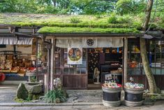 A small shop in Kyoto. Japanese Buildings, Japanese Streets, Japanese Architecture, Japanese Store, Aesthetic Japan, City Aesthetic, Japan Shop, Cozy Place, Kyoto Japan