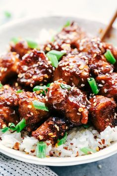 Slow Cooker General Tso's Chicken 3
