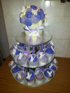 21st birthday giant (gluten free) cupcake