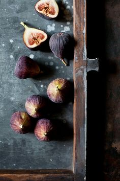 "Figs via Tartelette. ""Simply repinning the photograph because I adore fresh figs, and I think they are the single most sexual, sensual fruit on the planet."" https://www.facebook.com/CrescentDragonwagonFearlessly"
