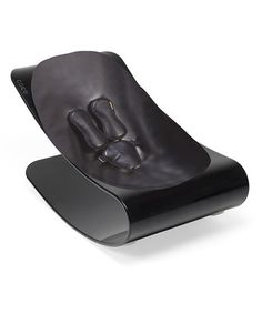 Take a look at this Black & Snakeskin Coco Plexistyle Baby Lounger by bloom baby on #zulily today!