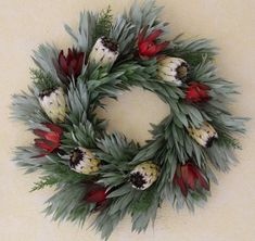 tropics become the holiday Christmas Swags, Holiday Wreaths, Christmas Tree Ornaments, Christmas Crafts, Christmas Decorations, Holiday Decor, Christmas Placemats, African Christmas, Flower Studio