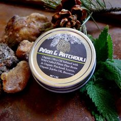 Piñon and Patchouli Salve - Herbal Salve, Relaxing Organic Aromatherapy and Ritual Balm - Pinyon Pine Patchouli Ointment - VEGAN Available by SilverEnchantments on Etsy