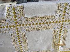 Αποτέλεσμα εικόνας για toalhas de mesa de jantar em croche