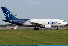 Air Transat Airbus A310-308 (registered C-GTSH)