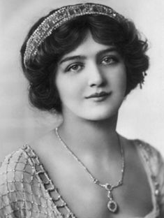 Miss Lily Elsie, Actress