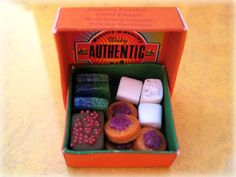 Skiving Snackbox by the Weasley brothers in dollhouse miniature (from the world of Harry Potter). $49.95, via Etsy.