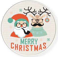 Buy 2 get 1 free. Hipster Christmas Cros Stitch Pattern. Hipster - Cross Stitch Pattern.(#P- 1269). Merry Christmas - Cross Stitch Pattern. Christmas DEER - Modern Cross Stitch Pattern. INSTANT DOWNLOAD ********** BUY 2 GET 1 FREE (of equal or lesser value) ********** **** Free selection is not included with instant download, it is sent manually. **** Free selection is NOT to be purchased, only noted. (Add 2 patterns to your cart and write to me # from the title of 3 pattern into the Note…