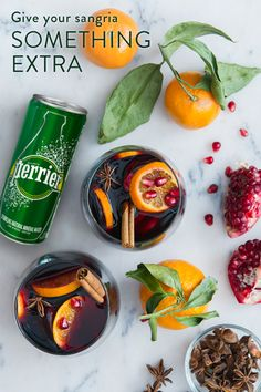 Some drinks are just made for summertime – the sangria is definitely one of those drinks. Make the most refreshing one you've tasted yet by adding Perrier for a little but noticeable punch that will have your guests asking for another round. Check out perrier.com for more ways to enhance the expected. 21+