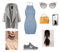 """Untitled #95"" by kduffy-1 on Polyvore featuring Topshop, New Balance, Fendi, Jil Sander and Casetify"