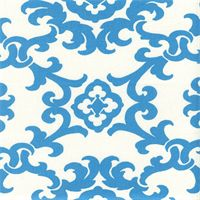 Akron Panorama Surf Blue Contemporary Drapery Fabric by Swavelle Mill Creek