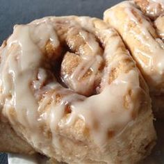 Cake Mix Cinnamon Rolls...almost taste as good as they make the house smell!