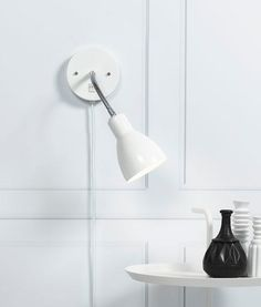 Flexible Head Switched Wall Light