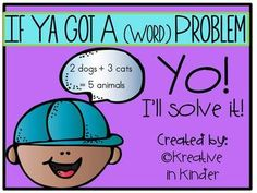 Word Problems! This