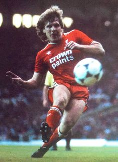 Jan Molby of Liverpool in 1987.