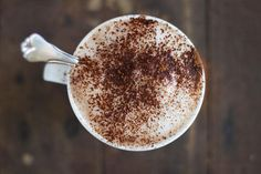 hot chocolate with cinnamon & vanilla   jessica cox  1 heaped teaspoon raw cocao (or carob powder if desired)  1/2 teaspoon vanilla extract  1/2 teaspoon cinnamon  1/4 cup boiling water  3/4 cup nut milk or milk of choice