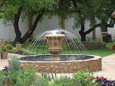 Garden Art, Garden Design, Vases Decor, Water Features, Beautiful Gardens, Garden Landscaping, Swimming Pools, Fountain, Ponds