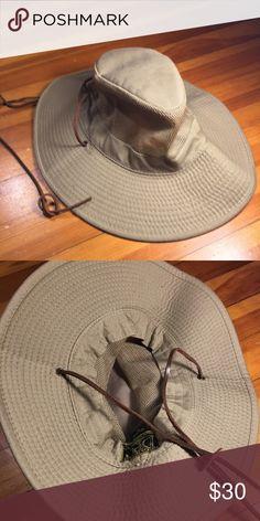c2366a6be9f Dorfman Pacific Headwear Adj. Vented Outback Hat Unisex medium Dorfman Pacific  Headwear Adj. Vented