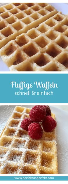 Fluffy waffles, a super quick and easy DIY recipe for a delicious . - Fluffy waffles, a super quick and easy DIY recipe for a delicious Sunday! Fluffy waffles, a super q - Easy Vanilla Cake Recipe, Chocolate Cake Recipe Easy, Chocolate Cookie Recipes, Homemade Chocolate, Chocolate Cookies, Hot Chocolate, Cake Mix Cookie Recipes, Easy Cheesecake Recipes, Homemade Cake Recipes