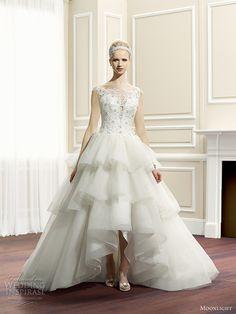 moonlight couture fall 2014 #wedding dress #weddings #weddingdress http://www.weddinginspirasi.com/2014/05/20/moonlight-couture-fall-2014-wedding-dresses/