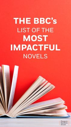 The BBC compiled a list of fiction that has had the biggest impact on readers and our world. From classic novels to historical fiction to science fiction to epic adventure stories to children's books, we've highlighted our favorites. Book Club Books, Book Lists, Books To Read, Reading Lists, Book Clubs, Cold Comfort Farm, The Golden Compass, S Diary, Movies Worth Watching