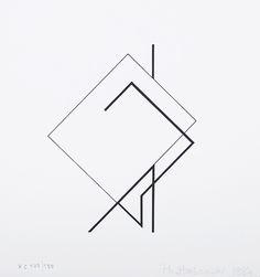 Love this geometric design (by Henryk Stazewski) Geometric Drawing, Geometric Shapes, Painting & Drawing, Design Art, Logo Design, Bauhaus Art, Geometric Designs, Graphic Design Inspiration, Minimalist Design