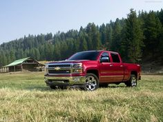 My future truck! Chevy Silverado is all I'm gonna drive from here on out