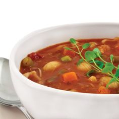 Minestrone Soup Mix – Our minestrone mix consists of tomatoes, potatoes, onions, carrots, celery, spinach, garlic and pasta.
