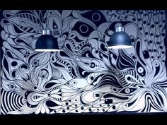 ©MarianoPadilla - Mural - Wall Painting - Uni Posca on 9m² wall - Locos por la Pizza