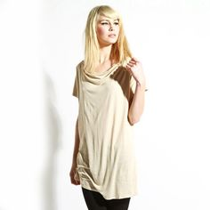 Romantic Cowl Top now featured on Fab.