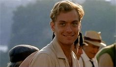 "Jude Law, 27 years of age. ""The Talented Mr. Ripley"" 2000"