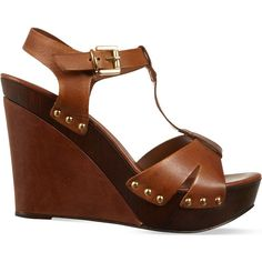 CARVELA Katey leather wedge sandals