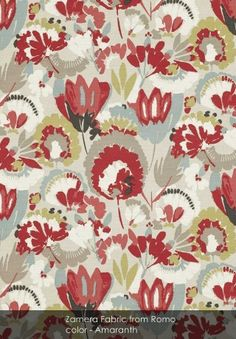 Zamera Fabric from Romo - patternsnap loves... January