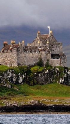 Duart Castle, Isle of Mull, Scotland - visible from the CalMac ferry Oban-Mull