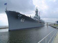 USS Alabama BB-60 Mobile, Alabama