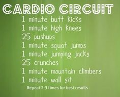 cardio circuit training - Google Search